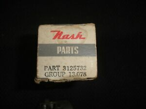 NOS 1949 Nash Statesman & Ambassator heater / defroster switch 3125732 Nash box