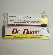 Dr. Numb 4% Lidocaine Topical Anesthetic Numbing Cream 30g Exp. 06/2021
