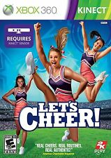 Let's Cheer (Microsoft Xbox 360) - NEW - FREE SHIPPING ™