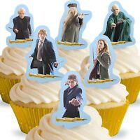 Cakeshop 12 x Essbare Aufrecht Stehende Harry Potter Kuchen Dekoration