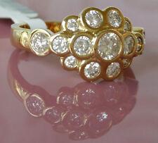 anillo mujer de oro con brillantes 31702 Oro Amarillo 585