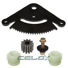 Steering Sector & Pinion Gear w/Bushings Fit John Deere D130 D140 D150 D160 D170