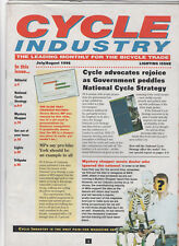 CYCLE INDUSTRY TRADE MAGAZINE JULY / AUG 1996 - SPECIAL LIGHTING ISSUE