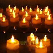 24pcs Led Tea Lights Battery Operated Flickering Flameless Candles