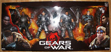 "NECA Gears of War Squadra Delta 7"" pollici Action Figure Box Set 4-Pack 52043"