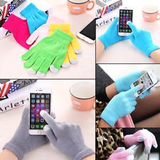 Guanti Capacitivi Colorati Accessori Touchscreen iPhone Smartphone Gloves Unisex