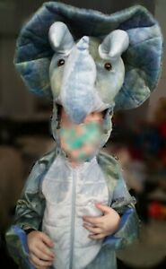 Dinosaur Costume 3-4 Years Triceratops Full Suit Halloween Party