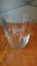 "8"" Glass Ice Bucket, Etched Golfer, by Angler's Expressions Inc., Boise Idaho"
