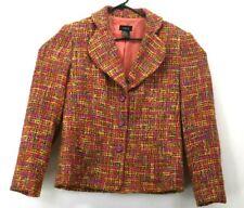 R.Q.T Women's Size 12 Vintage Long Sleeve Wool Stitch Blazer w/Shoulder Pads