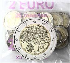 25 x Portugal 2 Euro Gedenkmünze 2007 bfr. EU Ratspräsidentschaft im Beutel