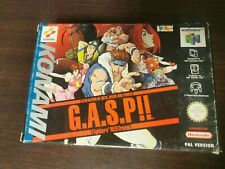 G.A.S.P!! Generation of Arts, speed and power - Fighters NEXTream N64 OVP