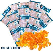 120 Tabletten Bernsteinsäure je 100 mg Amber Acid Succinic Янтарная кислота