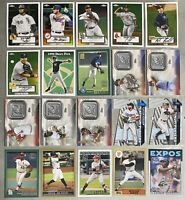 2021 Topps Series 1 Insert Chrome Gold Logo Patch Lot of 79 Diff Jo Adell Trout