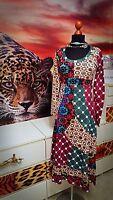 DESIGUAL   GR.S-M  Damen used Hippie Maxikleid Kleid -Women's  dress