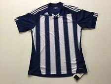 NWT adidas Men's Stricon Climacool SS Soccer Football Futbal Jersey, Navy,  Sz M