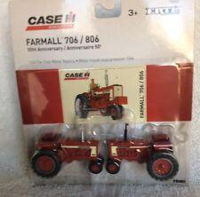Case-IH Farmall 706 & 806 Tractor Set In 1/64 Scale