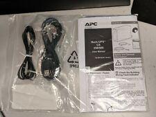 APC Back-UPS CS 350/500 Battery Backup Lit Kit BK/MK 0L2200 Cables PowerChute CD