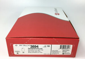 """10 Hollister 3894 CenterPointLock Drainable Pouch 2-3/4"""" Flange Exp 2022 In Box"""