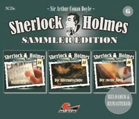 SHERLOCK HOLMES SAMMLER EDITION, FOLGE 6 (SIR ARTHUR CONAN DOYLE) 3 CD NEU