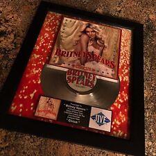 Britney Spears Circus Platinum Record Album Disc Music Award MTV Grammy RIAA