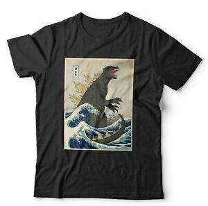 Godzilla Off Kanagawa Tshirt Unisex & Kids - Retro, Vintage, Gojira