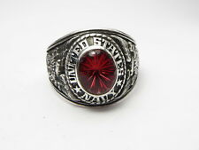 STERLING SILVER 925 , RING , USA , USN , US NAVY ring , us SIZE: 11.25 ,  id95