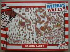 Where's Wally? Racing Santa 1000 Piece Jigsaw Puzzle - New not Sealed