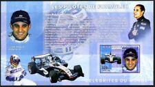 Congo 2006 MNH Imperf MS, Juan Pablo Montoya, Colombian Formula 1 Car, Sports