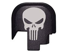Tactical Skull Design Slide Rear Cover Plate for Smith & Wesson S&W M&P Shield
