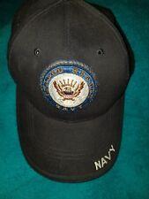 United States US Navy USN Military Embroidered Baseball Cap Hat ROTHCO Hooah