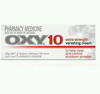 2 × OXY 10 EXTRA STRENGTH VANISHING CREAM 10% BENZOYL PEROXIDE OzHealthExperts