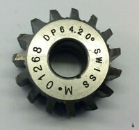 Gear cutting hob 64 DP 20pa  with  10 mm bore Manufactured by Mikron