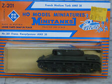 Roco / Herpa  Minitanks (NEW) Modern French AMX 30 Medium Tank Lot #1312