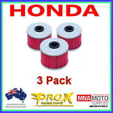3 PACK PROX  MX OIL FILTERS HONDA XR400R XR 400R 1996-2005