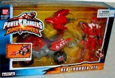 """Power Rangers Dino Thunder Red ATV W 5"""" Red Ranger NEW Factory Sealed 2004"""