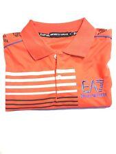 EA7 Emporio Armani Men's Summer Short Sleeve Casual Solid Polo Shirts T-shirt M
