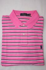 Ralph Lauren Men's Pink Striped Polo Shirt Small Pony Size XL Gift for Him NWT