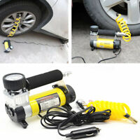 12v 150 PSI Speed Heavy Duty Car Van Tyre Air Compressor Inflator Electric Pump