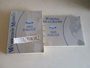 2005 FORD GT Wiring Diagrams & Service Manuals Manual OEM