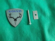 volvo emblem moose grille badge s40 s60 xc90 850 s70 s80 v70 v50 240 940