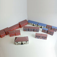More details for 1:220 card z gauge model railway house pack of 33 x houses (zz-p-h-001)