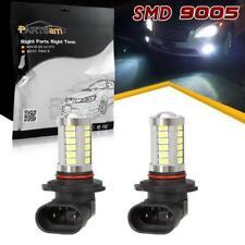 2Pcs 9005 HB3 White 6000k DRL Daytime Running Light Bulbs 33 Chips Led Projector