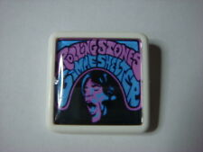 ROLLING STONES GIMME SHELTER    ALBUM COVER    BADGE PIN