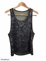 Reebok Men's Sleeveless Athleticwear Tank Top Shirt Geometric Speedwick Medium