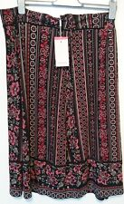 Monsoon Tamara Midi Skirt Size XL Floral design Bnwt Multi Coloured Extra large