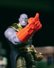 'Snapping' Unpainted Nano Gauntlet Endgame PROP ONLY Marvel Legends 1/12