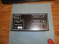 Micro Vu Edge Detector Lt