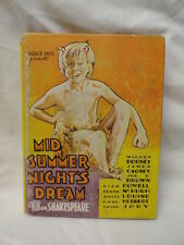 Shakespeare American Performing Arts Miniature Play Book Mid Summer Nights Dream
