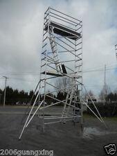 Aluminium Mobile Tower Scaffold N68 Scaffolding Platform Ht 5.8m L:2.6m W:0.75m