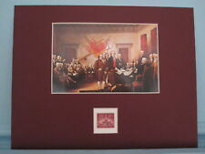 The Declaration of Independence honored by stamp